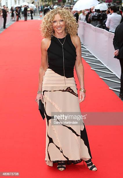 Kelly Hoppen attends as BAFTA celebrate 'Downton Abbey' at Richmond Theatre on August 11 2015 in Richmond England