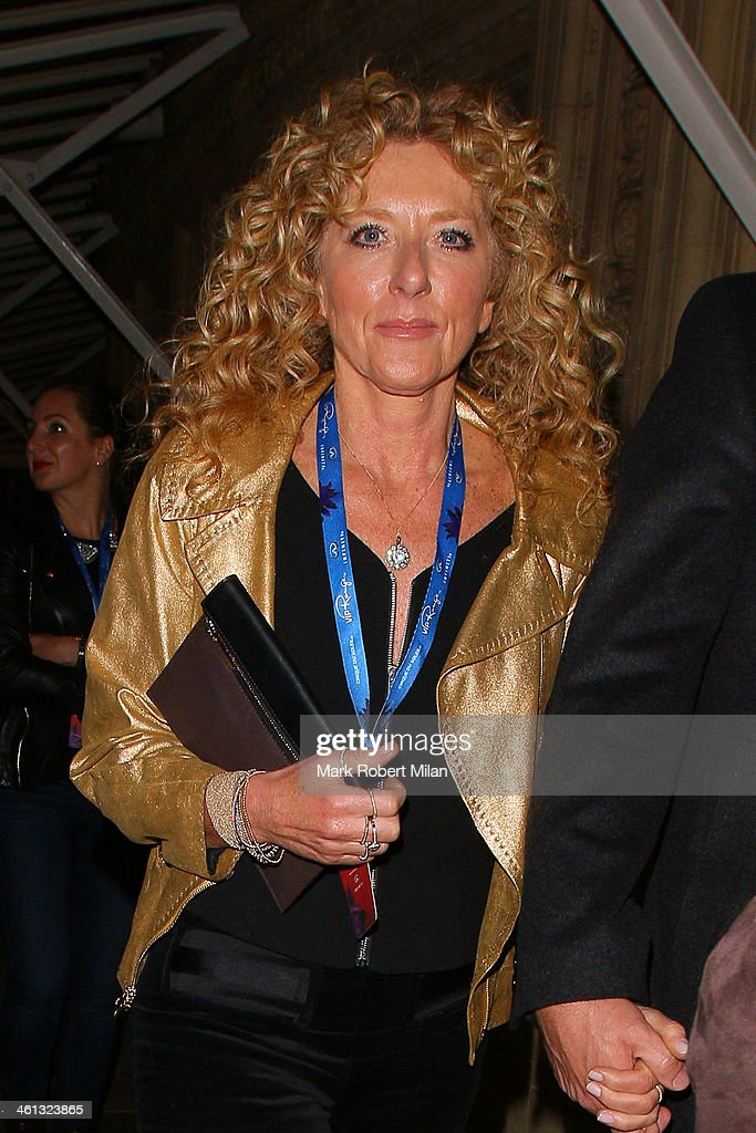 Kelly Hoppen attends as Cirque du Soleil opens its latest show Quidam at the Royal Albert Hall on January 7, 2014 in London, England.