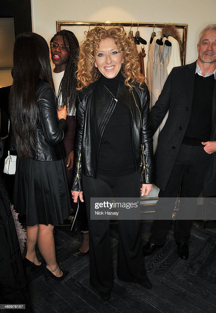 <a gi-track='captionPersonalityLinkClicked' href=/galleries/search?phrase=Kelly+Hoppen&family=editorial&specificpeople=214726 ng-click='$event.stopPropagation()'>Kelly Hoppen</a> attends the opening of the new Amanda Wakeley store on January 30, 2014 in London, England.