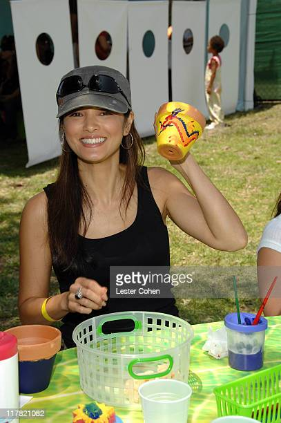 Kelly Hu during 'A Time For Heroes' Sponsored by Disney to Benefit the Elizabeth Glaser Pediatric AIDS Foundation Inside at Wadsworth Theater in...