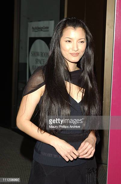 Kelly Hu during Audemars Piguet 'Promesse to Win' Breast Cancer Research Foundation Benefit Arrivals at Astra West in West Hollywood California...