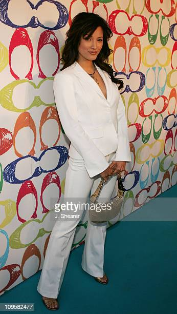 Kelly Hu during Coach Play For Peace Concert and Red Carpet in Tokyo Japan