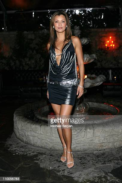 Kelly Hu during Kelly Hu's Birthday Party hosted by The Dolce Group Gavin Navarro and Jungle Tones at Les Duex in Hollywood California United States