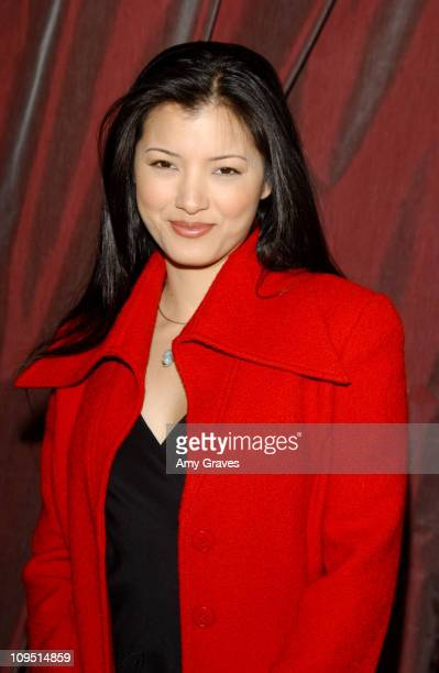 Kelly Hu during New York Designer Zang Toi Reveals His Oscar Gown Collection during a Party Benefiting Kelly and Sharon Stone's Charity 'Planet Hope'...