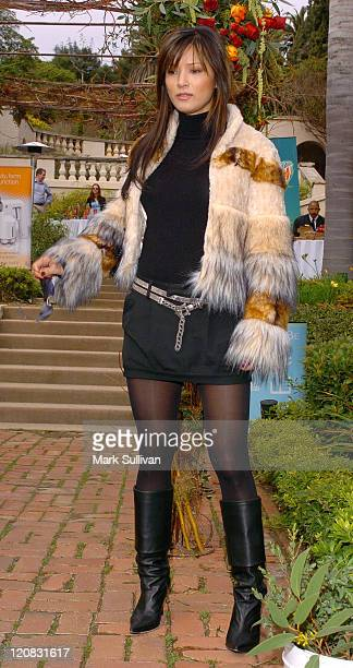 Kelly Hu during Silver Spoon PreGolden Globe Hollywood Buffet Day 1 at Private Residence in Los Angeles California United States Photo by Mark...