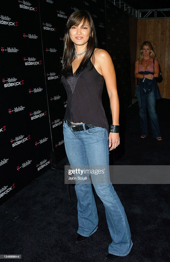 <a gi-track='captionPersonalityLinkClicked' href=/galleries/search?phrase=Kelly+Hu&family=editorial&specificpeople=202918 ng-click='$event.stopPropagation()'>Kelly Hu</a> during 'T-Mobile Sidekick II' Launch Party - Red Carpet at The Grove in Los Angeles, California, United States.