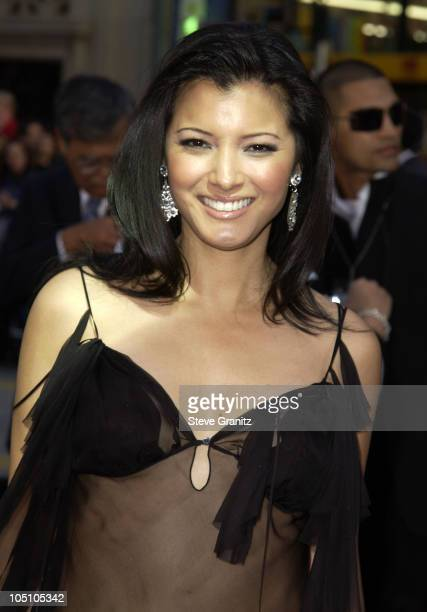 Kelly Hu during 'X2 XMen United' Premiere Los Angeles Arrivals at Grauman's Chinese Theatre in Hollywood California United States