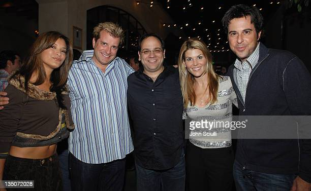 Kelly Hu Emile Levisetti Howard J Morris Lori Loughlin and Jonathan Silverman
