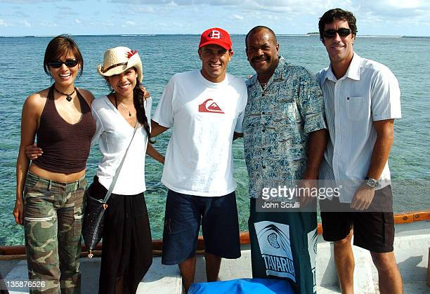 Kelly Hu Lisa Ann Cabasa Kelly Slater Chief Drukh and Jon Roseman