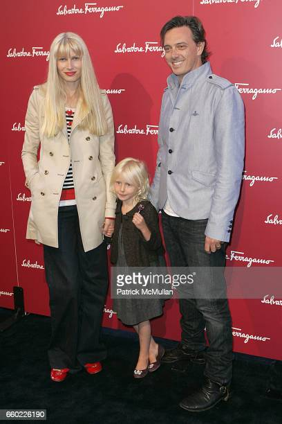 Kelly Hume and Donovan Leitch attend Debi Mazar and Adrian Grenier Host Salvatore Ferragamos Benefit for LAUILA EARTHQUAKE Victims at Salvatore...