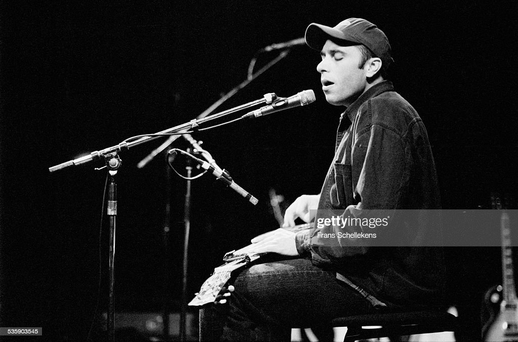 Kelly Joe Phelps, guitar, performs at the Paradiso on April 26th 1998 in Amsterdam, Netherlands.