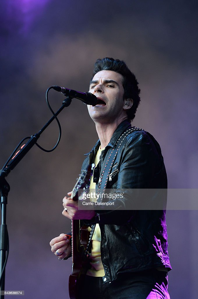 Kelly Jones of Stereophonics performs onstage at Belsonic at Titanic Slipways on June 29, 2016 in Belfast, Northern Ireland.