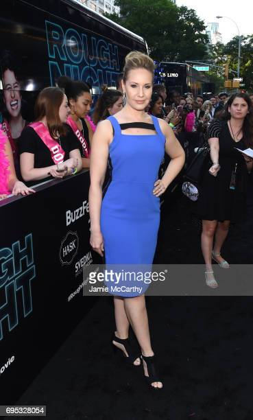 Kelly Karbacz attends New York Premiere of Sony's ROUGH NIGHT presented by SVEDKA Vodka at AMC Lincoln Square Theater on June 12 2017 in New York City