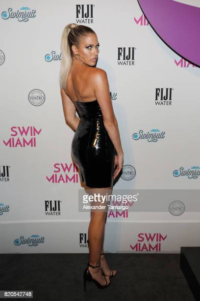 Kelly Kelly attends SWIMMIAMI HotAsHell 2018 Collection at 227 22nd Street on July 21 2017 in Miami Beach Florida