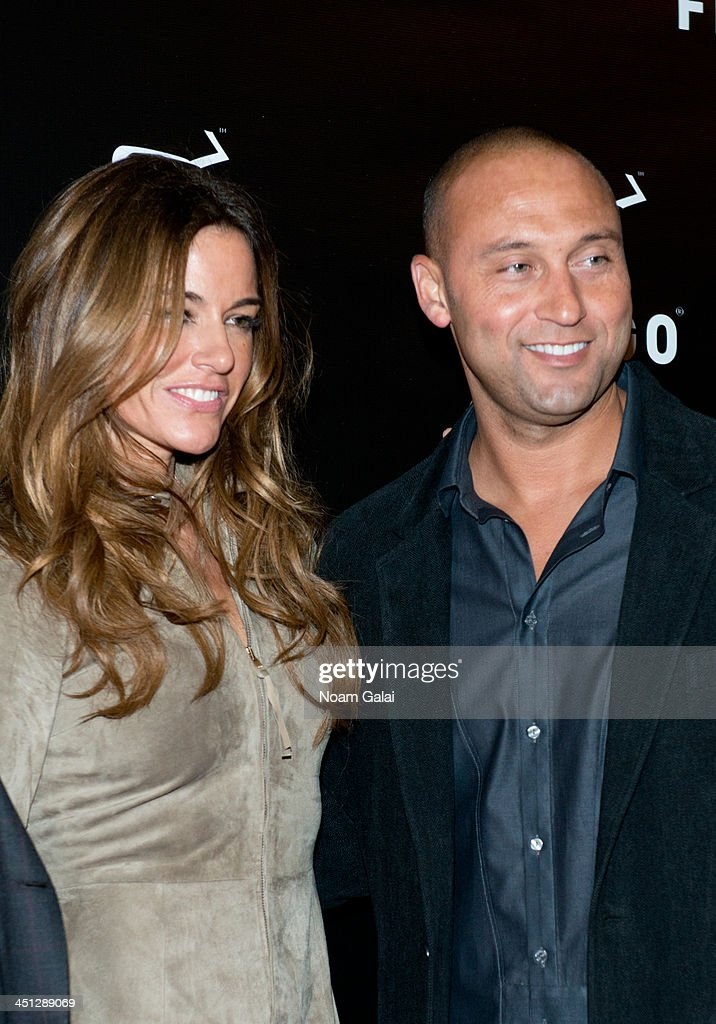 <a gi-track='captionPersonalityLinkClicked' href=/galleries/search?phrase=Kelly+Killoren+Bensimon&family=editorial&specificpeople=621950 ng-click='$event.stopPropagation()'>Kelly Killoren Bensimon</a> and <a gi-track='captionPersonalityLinkClicked' href=/galleries/search?phrase=Derek+Jeter&family=editorial&specificpeople=167125 ng-click='$event.stopPropagation()'>Derek Jeter</a> attend the launch party of the Frigo Pop-Up Store on November 21, 2013 in New York City.