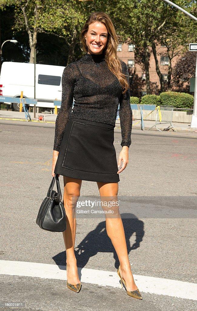 Kelly Killoren Bensimon attends 2014 MercedesBenz Fashion Week during day 5 on September 9 2013 in New York City