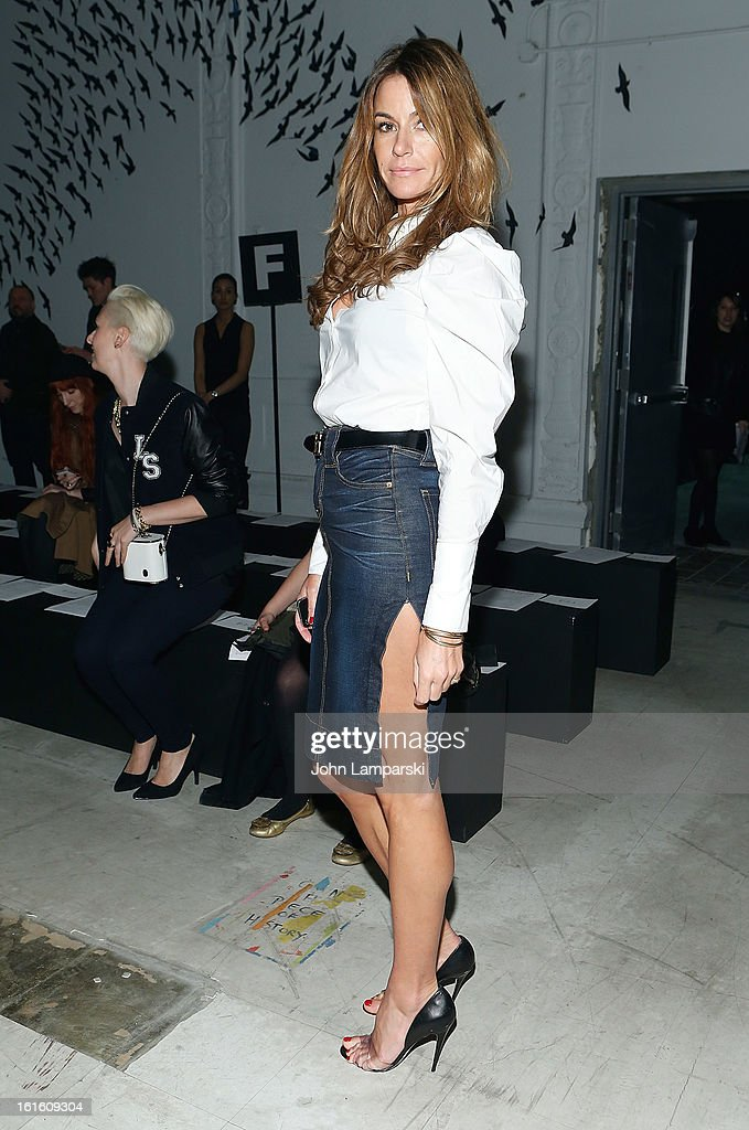 Kelly Killoren Bensimon attends Michael Bastian during Fall 2013 Mercedes-Benz Fashion Week on February 12, 2013 in New York City.