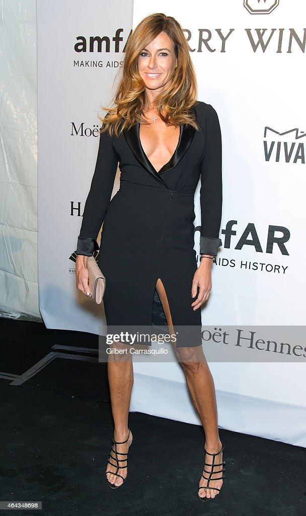 Kelly Killoren Bensimon attends the 2015 amfAR New York Gala at Cipriani Wall Street on February 11 2015 in New York City