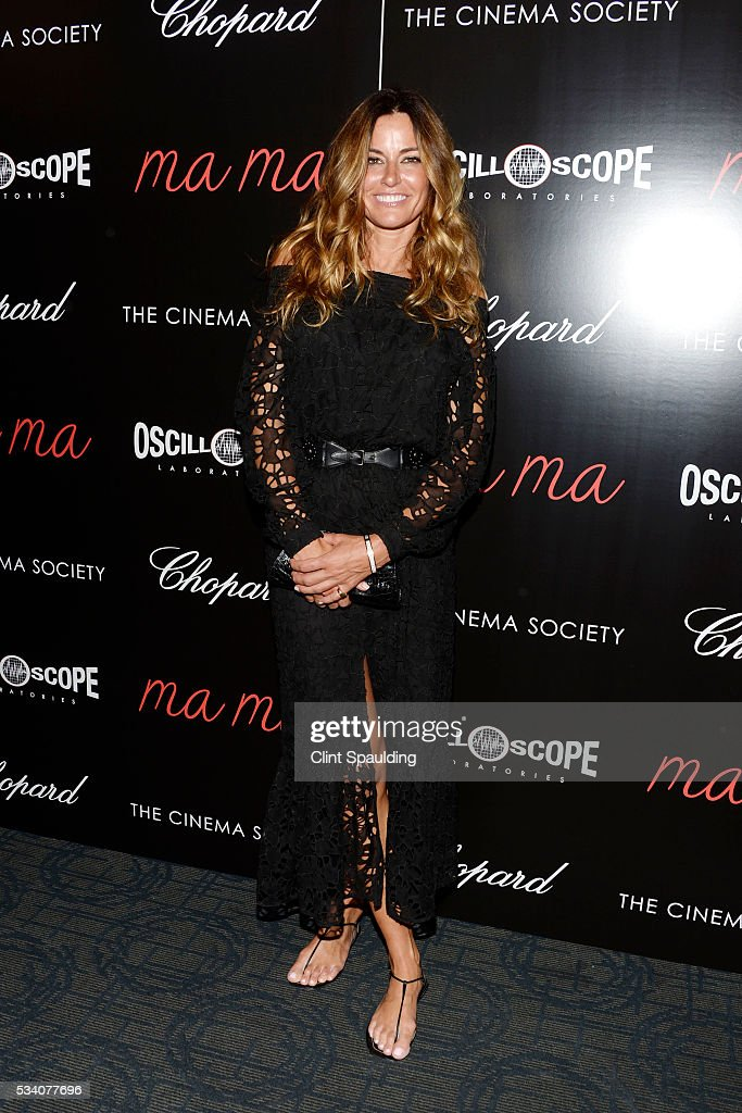 Kelly Killoren Bensimon attends The Cinema Society and Chopard Host a Screening of Oscilloscope's 'ma ma' at Landmark Sunshine Theatre on May 24, 2016 in New York City.