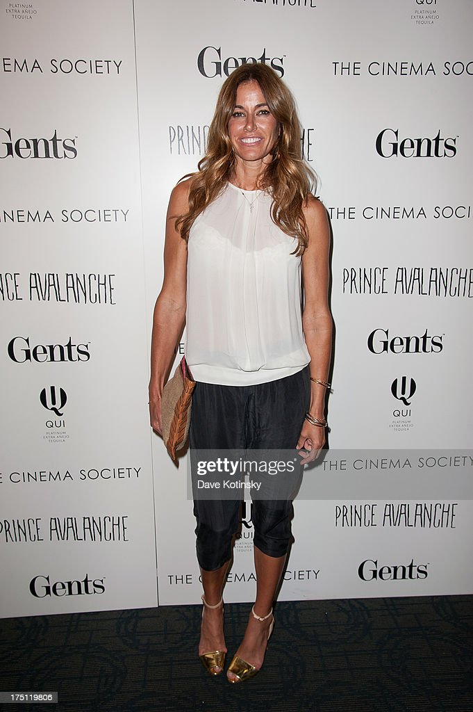 Kelly Killoren Bensimon attends The Cinema Society And Gents Host A Screening Of Magnolia Pictures' 'Prince Avalanche' at Landmark Sunshine Cinema on...
