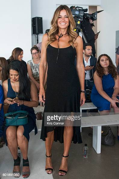 Killoren bensimon attends the jill stuart fashion show during new york
