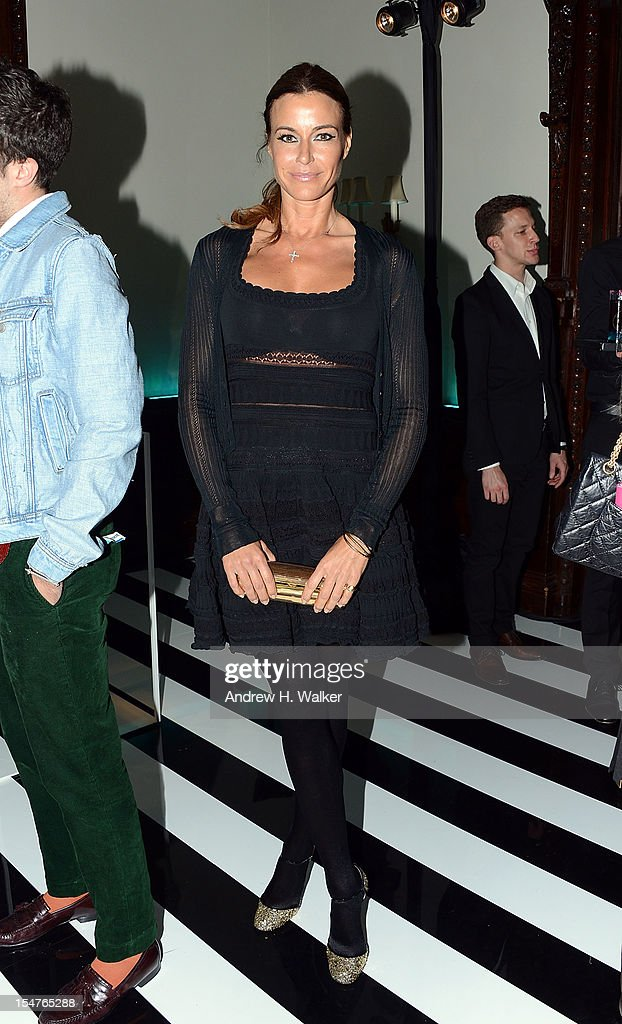 Kelly Killoren Bensimon attends the Jimmy Choo and Rob Pruitt Collection Launch on October 25, 2012 in New York City.