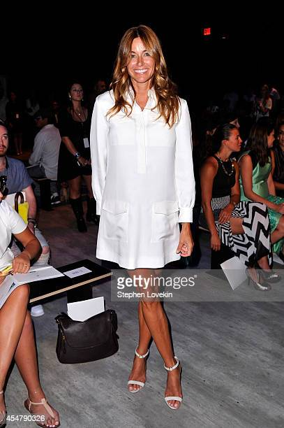 Kelly Killoren Bensimon attends the Luis Antonio fashion show during MercedesBenz Fashion Week Spring 2015 at The Pavilion at Lincoln Center on...
