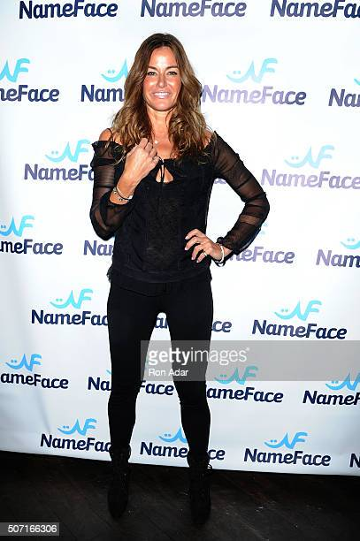 Kelly Killoren Bensimon attends the NameFacecom Launch at No 8 on January 27 2016 in New York City
