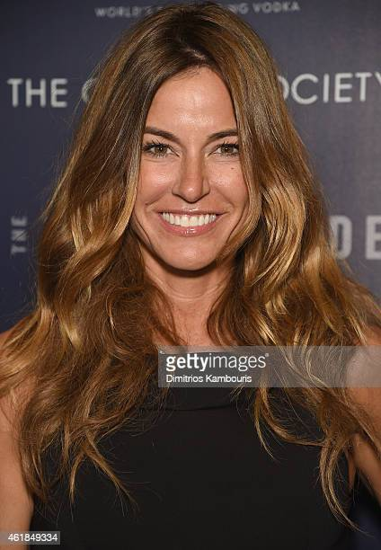 Kelly Killoren Bensimon attends the premiere of the Film Arcade Cinedigm's 'Song One' hosted by the Cinema Society Tod's at Landmark's Sunshine...