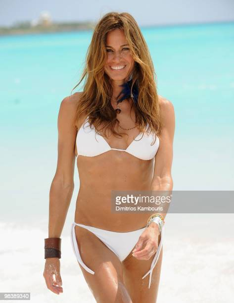 GREAT EXUMA ISLAND BAHAMAS APRIL 09 Kelly Killoren Bensimon attends the Sandals Emerald Bay celebrity golf weekend at Sandals Emerald Bay Resort on...