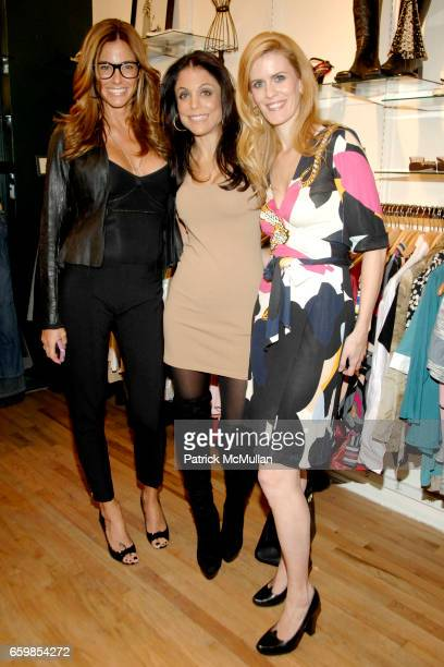 Kelly Killoren Bensimon Bethenny Frankel and Alex McCord attend SECOND TIME AROUND Resale Goes Upscale and Uptown at Second Time Around on November 3...