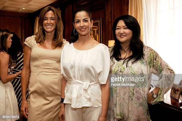 Kelly Killoren Bensimon Dayssi Olarte De Kanavos and Susan Shin attend EMANUEL UNGARO Inivites you to Join DAYSSI OLARTE De KANAVOS and SUSAN SHIN...
