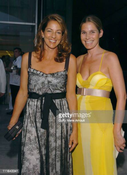 Kelly Klein and Aerin Lauder during The 37th Annual Party in the Garden Honoring David Rockefeller's 90th Birthday at The Abbey Aldrich Rockefeller...