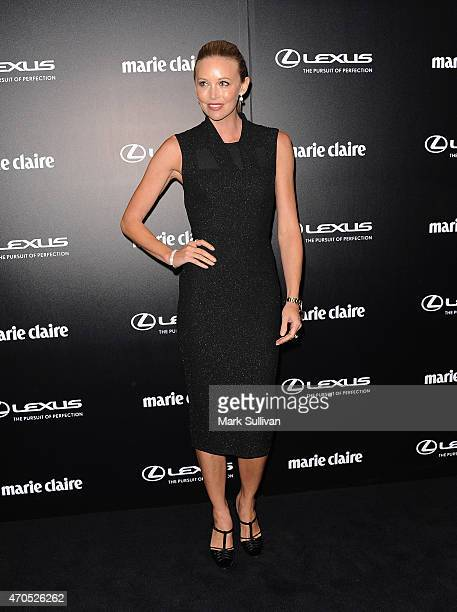 Kelly Landry arrives at the 2015 Prix de Marie Claire Awards at Fox Studios on April 21 2015 in Sydney Australia