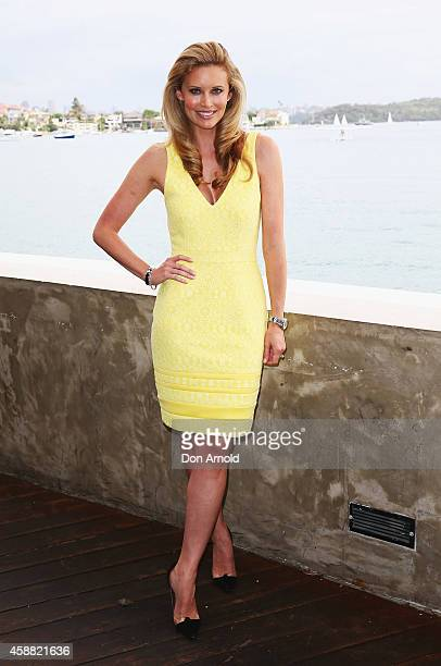 Kelly Landry arrives for the 2nd annual loyal ladies lunch at the Catalina on November 12 2014 in Sydney Australia