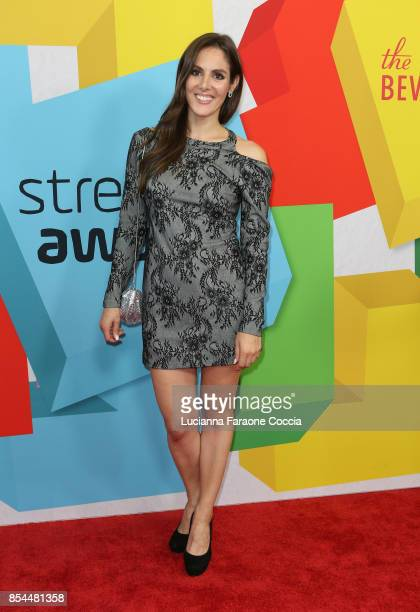 Kelly Landry attends the 7th Annual Streamy Awards at The Beverly Hilton Hotel on September 26 2017 in Beverly Hills California