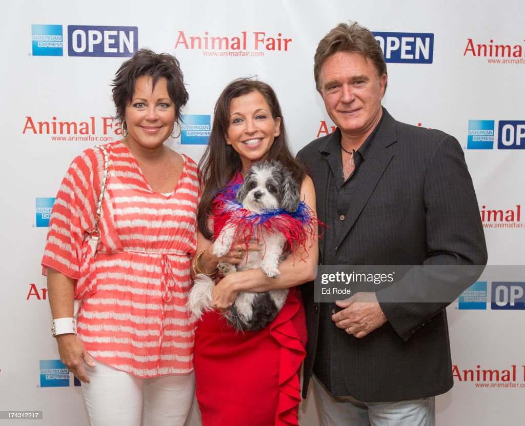 Kelly Lang, <a gi-track='captionPersonalityLinkClicked' href=/galleries/search?phrase=Wendy+Diamond&family=editorial&specificpeople=663985 ng-click='$event.stopPropagation()'>Wendy Diamond</a> and T.G. Shephard attends AnimalFair.com Bark Breakfast Benefiting K9s For Warriors at the Loews Vanderbilt Hotel on July 24, 2013 in Nashville, Tennessee.