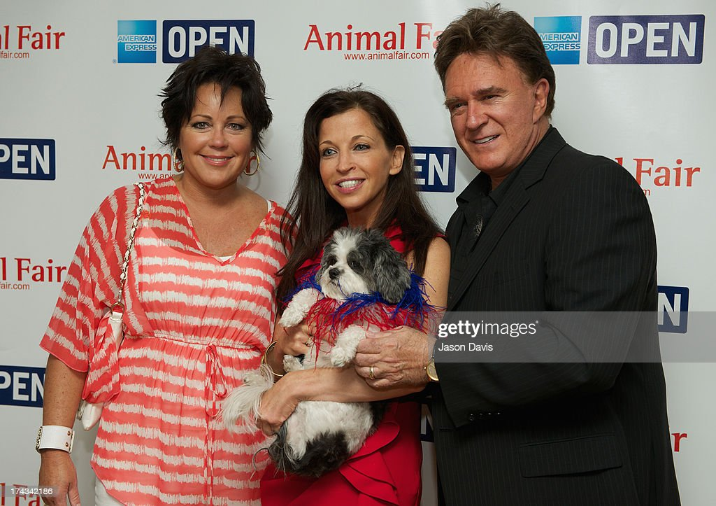 Kelly Lang, Wendy Diamond and TG Sheppard the AnimalFair.com Bark Breakfast Benefiting K9s For Warriors at the Loews Vanderbilt Hotel on July 24, 2013 in Nashville, Tennessee.