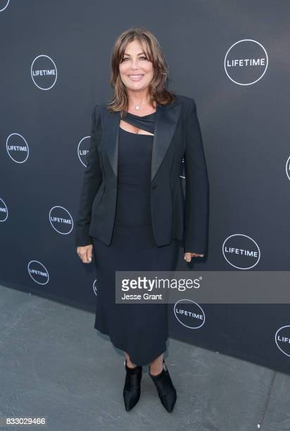 Kelly LeBrock attends Lifetime's New Docuseries 'Growing Up Supermodel's' Exclusive LIVE Viewing Party Hosted By Andrea Schroder on August 16 2017 in...