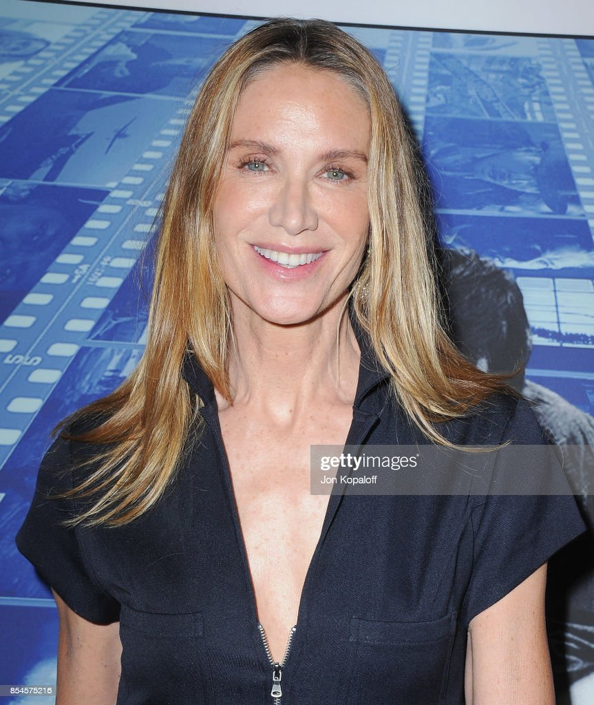 Kelly Lynch arrives at the HBO Premiere 'Spielberg' at Paramount Studios on September 26, 2017 in Hollywood, California.