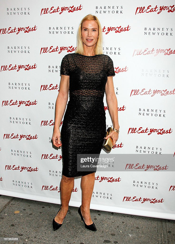 Kelly Lynch attends the 'I'll Eat You Last: A Chat With Sue Mengers' Broadway opening night on April 24, 2013 in New York City.
