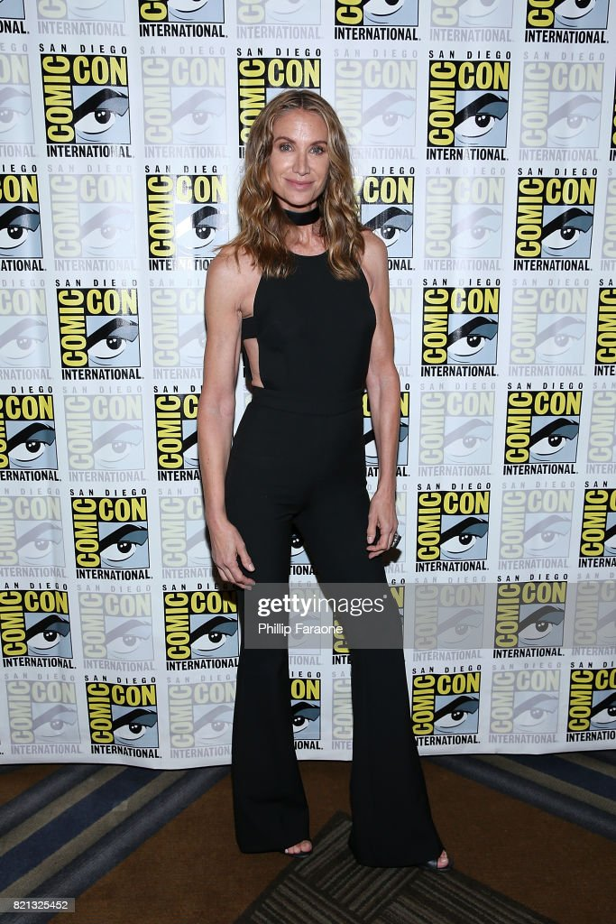 Kelly Lynch attends the Stephen King Series 'Mr. Mercedes' press line at Comic-Con International 2017 on July 23, 2017 in San Diego, California.