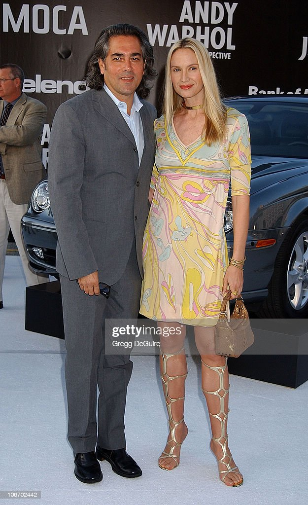 <a gi-track='captionPersonalityLinkClicked' href=/galleries/search?phrase=Kelly+Lynch&family=editorial&specificpeople=203037 ng-click='$event.stopPropagation()'>Kelly Lynch</a> & husband Mitch during Angeleno Magazine & Jaguar Sponsor VIP Gala Honoring Dennis Hopper and Opening the Andy Warhol Retrospective at MOCA at The Museum of Contemporary Art in Los Angeles, California, United States.