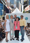 Kelly Lynch Mitch Glazer Danny Huston Carol Ramsey and Michael Rispoli attend 'Magic City' Season 2 Premiere Fashion Event at Duffy Square in Times...