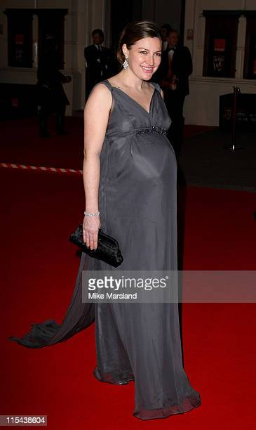 Kelly Macdonald arrives at the Orange British Academy Film Awards 2008 held at the Royal Opera House on February 10 2008 in London England