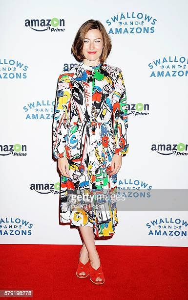 Kelly Macdonald attends the gala screening for 'Swallows and Amazons' at Picturehouse Central on July 23 2016 in London England
