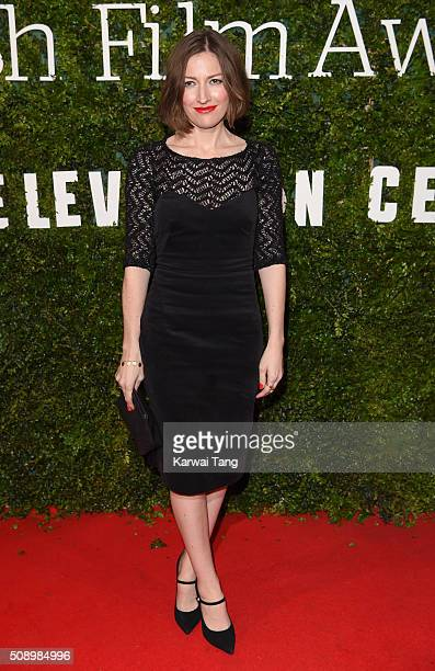 Kelly Macdonald attends the London Evening Standard British Film Awards at Television Centre on February 7 2016 in London England