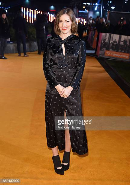Kelly Macdonald attends the 'T2 Trainspotting' world premiere on January 22 2017 in Edinburgh United Kingdom