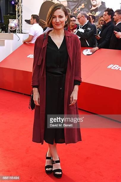 Kelly Macdonald attends the World Premiere 'David Brent Life On The Road' at Odeon Leicester Square on August 10 2016 in London England