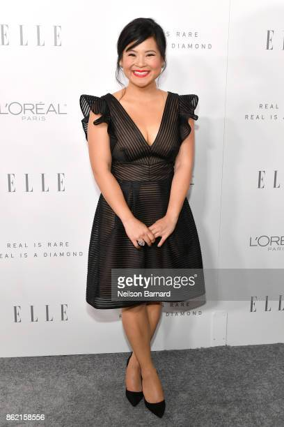 Kelly Marie Tran attends ELLE's 24th Annual Women in Hollywood Celebration presented by L'Oreal Paris Real Is Rare Real Is A Diamond and CALVIN KLEIN...